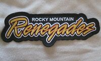 Rocky Mountain Renegades Patch - Large Size - 11 3/8 X 4 1/4