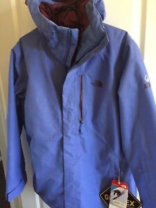 90c1cf8952d0 The North Face NFZ Insulated Steep Series Jacket Stellar Blue Womens ...