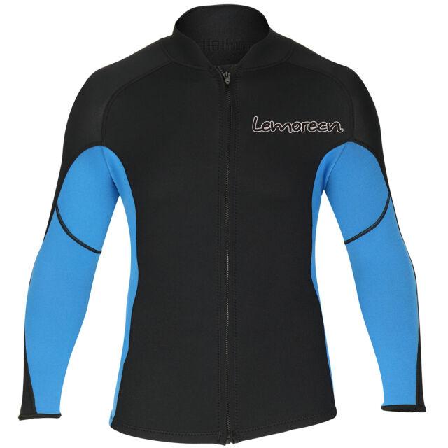 divecica Long Sleeve Jacket Neoprene Wetsuit Top for Women