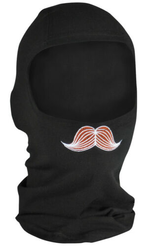 Zan Headgear Bamboo//Cotton Balaclava Mustache