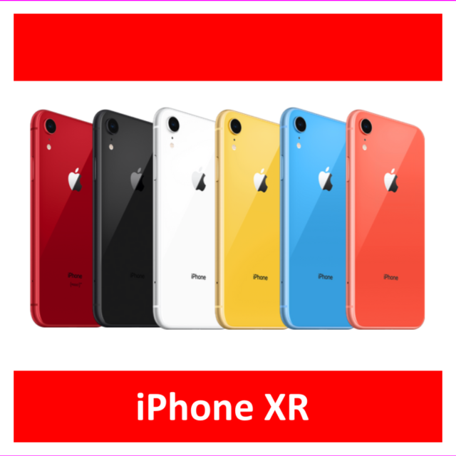 Apple iPhone XR 64GB Factory Unlocked AT&T T-Mobile Verizon Very Good Condition
