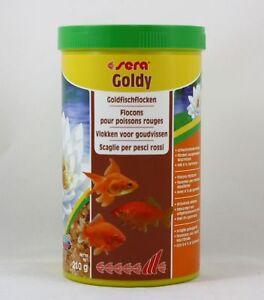 Sera-Goldy-1000ml-Glodfischflocken-Nourriture-Complete-Pour-Goldfische-11-99