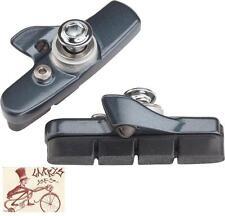 SHIMANO 6810 DIRECT MOUNT BRAKE BICYCLE BLACK BRAKE PADS SHOES W/ HOLDERS