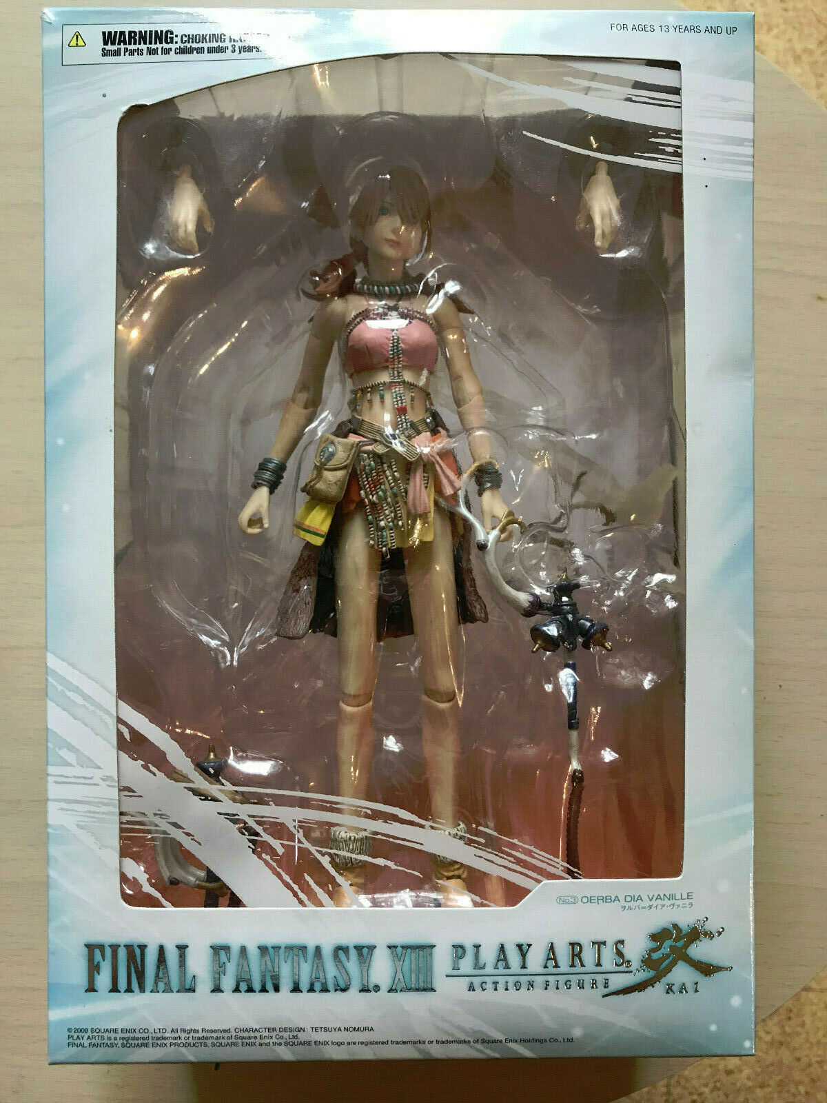 Final Fantasy XIII Play Arts kai  figurine Vanille Square Enix