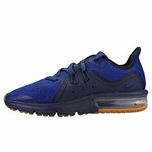 Détails sur Enfants Nike Air Max Sequent 3 Navy Blue Gum (PS) AO0554 402 UK 2 afficher le titre d'origine