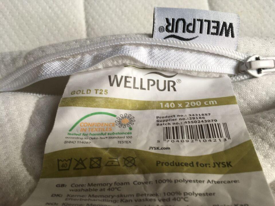 Topmadras, Wellpur, b: 140 l: 200 h: 4