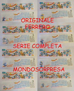 Cartina Italia Completa.Ferrero Serie Completa 10 Cartine Bpz Italia Squalibaba Originale Ebay