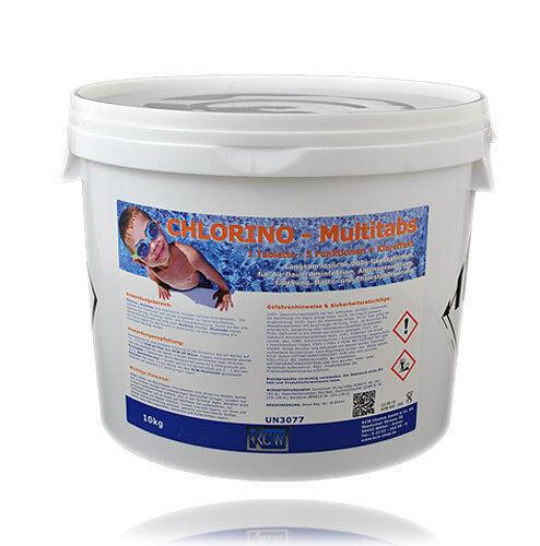 KCW® - 10 kg 5 in 1 Chlor  Multitatabletten  200g Tabletten Chlortabs