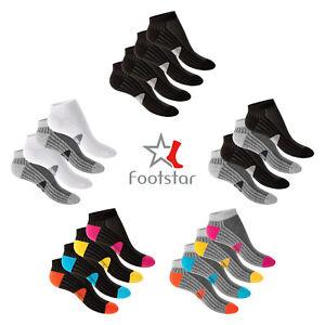 Details zu 4 Paar Footstar Funktions Wellness Sneaker Socken Sportsocken Radsocken 35 46
