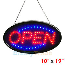 Ultra Bright LED Neon Open Sign for Business Store Animated Motion Light 2 Modes