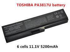 NEW Battery PA3634U-1BAS PA3817U-1BRS for Toshiba Satellite C640D C650D C655D