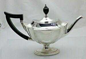 Antique-Sterling-Solid-Silver-Stunning-Elegant-Bachelors-Teapot-436g-1517-9-VES