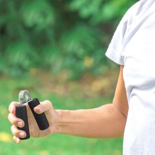 2x Fingertrainer Griffkrafttrainer schwarz Handgreifer Handtraining Fingerhantel