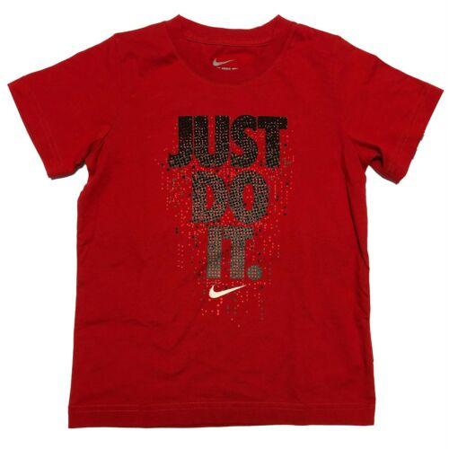 Nike Boy/'s Graphic Short Sleeve T-Shirt