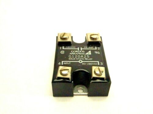 Gordos G120A25 Solid State Relay 120VAC 25 AMP
