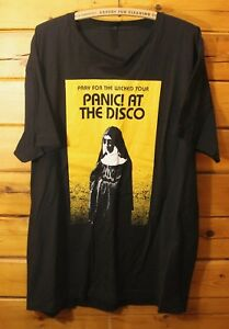 162d3b5a Panic At The Disco - Pray For The Wicked Tour 2018 Local Crew Rare ...