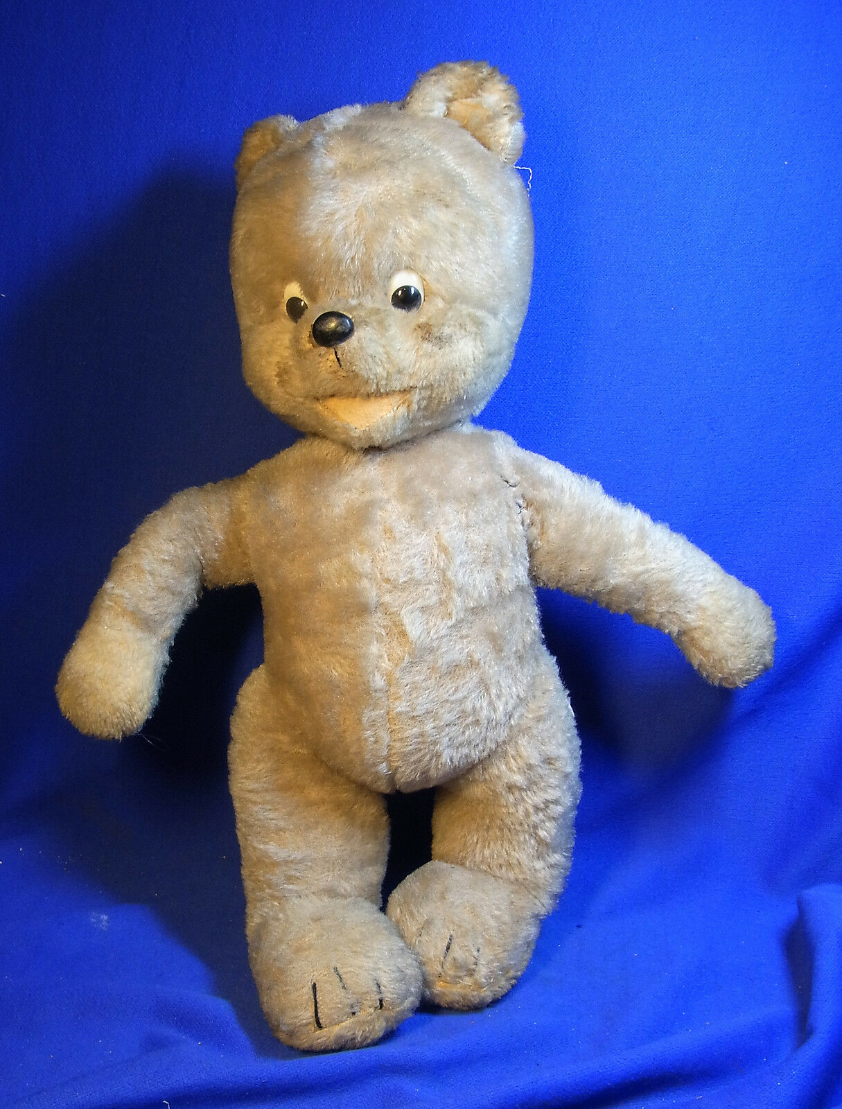 Vintage German Schuco Stuffed Animal Musical Teddy Bear  <