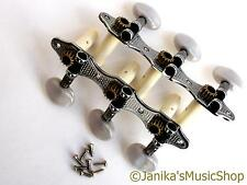 Best quality chrome classical guitar machine heads 3+3 tuners for nylon strings
