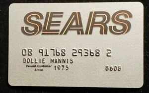 Details about Sears Credit card ♡Free Shipping♡cc7♡