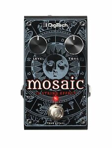 digitech mosaic polyphonic 12 string pitch shift true bypass guitar effect pedal 691991202926 ebay. Black Bedroom Furniture Sets. Home Design Ideas
