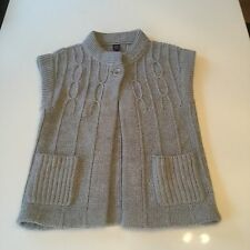 Grey GAP Short Sleeved Cardigan