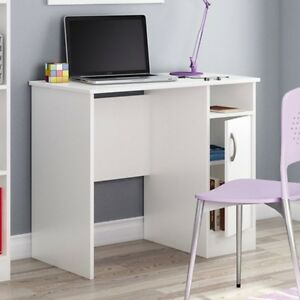 White-Computer-Desk-Great-for-Small-Home-Office-Space