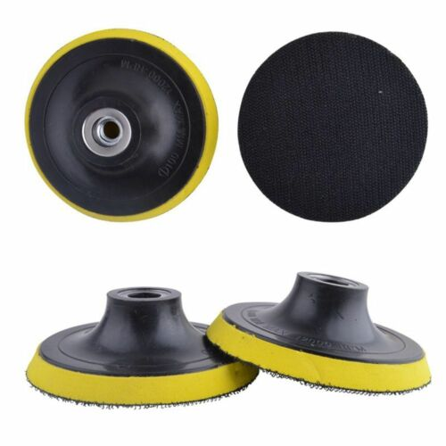 3//4//5//6//7/'/' Auto Car M14 Pad Polisher Buffing Backing Plate Hook /& Loop