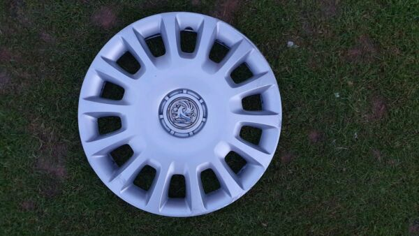 "**free Uk P+p** Vauxhall Corsa D 14"" Wheel Trim X 1 Genuine 13211853pf Aspetto Elegante"