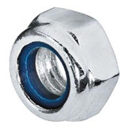 Sicherungsmuttern DIN 985 Mutter Stahl verzinkt selbstsichernd M5 M6 Sicherung
