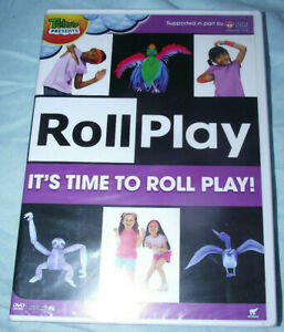 BRAND-NEW-DVD-Treehouse-Presents-Roll-Play-It-039-s-Time-To-Roll-Play