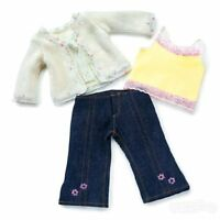 Doll Clothes Ag 18 Jeans Cami Sweater Carpatina Made For American Girl Dolls