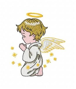 Image Is Loading Angel Collection 12 Machine Embroidery Designs On Multi