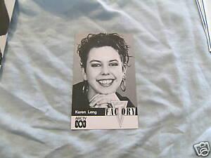 ABC-TV-FAN-CARD-THE-FACTORY-KAREN-LENG