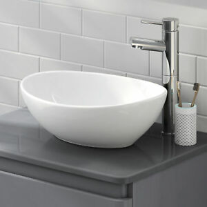 Modern Bathroom Counter Top Ceramic White Basin Cloakroom Gloss Wash Sink - Hook, United Kingdom - Returns accepted Most purchases from business sellers are protected by the Consumer Contract Regulations 2013 which give you the right to cancel the purchase within 14 days after the day you receive the item. Find out more about you - Hook, United Kingdom
