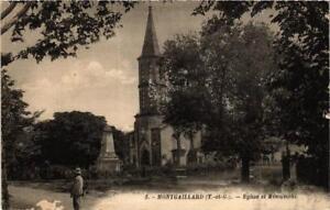 CPA AK Montgaillard Église et Monument (614879)