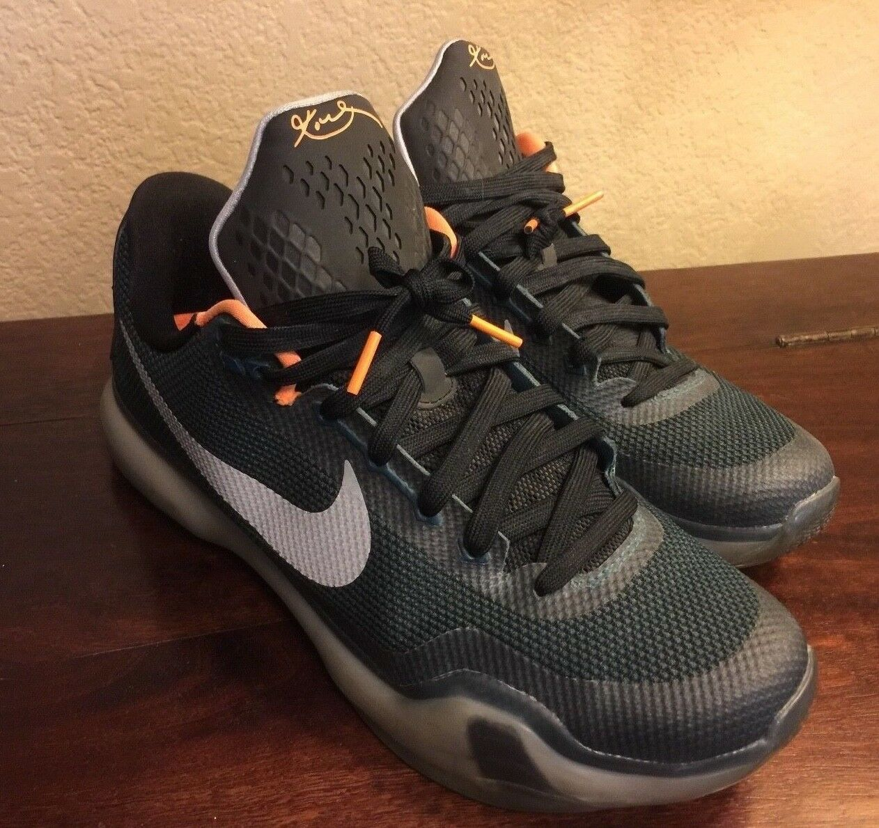 NIKE KOBE BRYANT X VINTAGE MENS MENS MENS SHOES SIZE 10.5 LIMITED EDITION COLOR SEGWAY 71ffcf