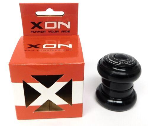 "XON Model XHS-104 1-1//8/"" Threadless Alloy Headset NEW In Box Black w// top cap"