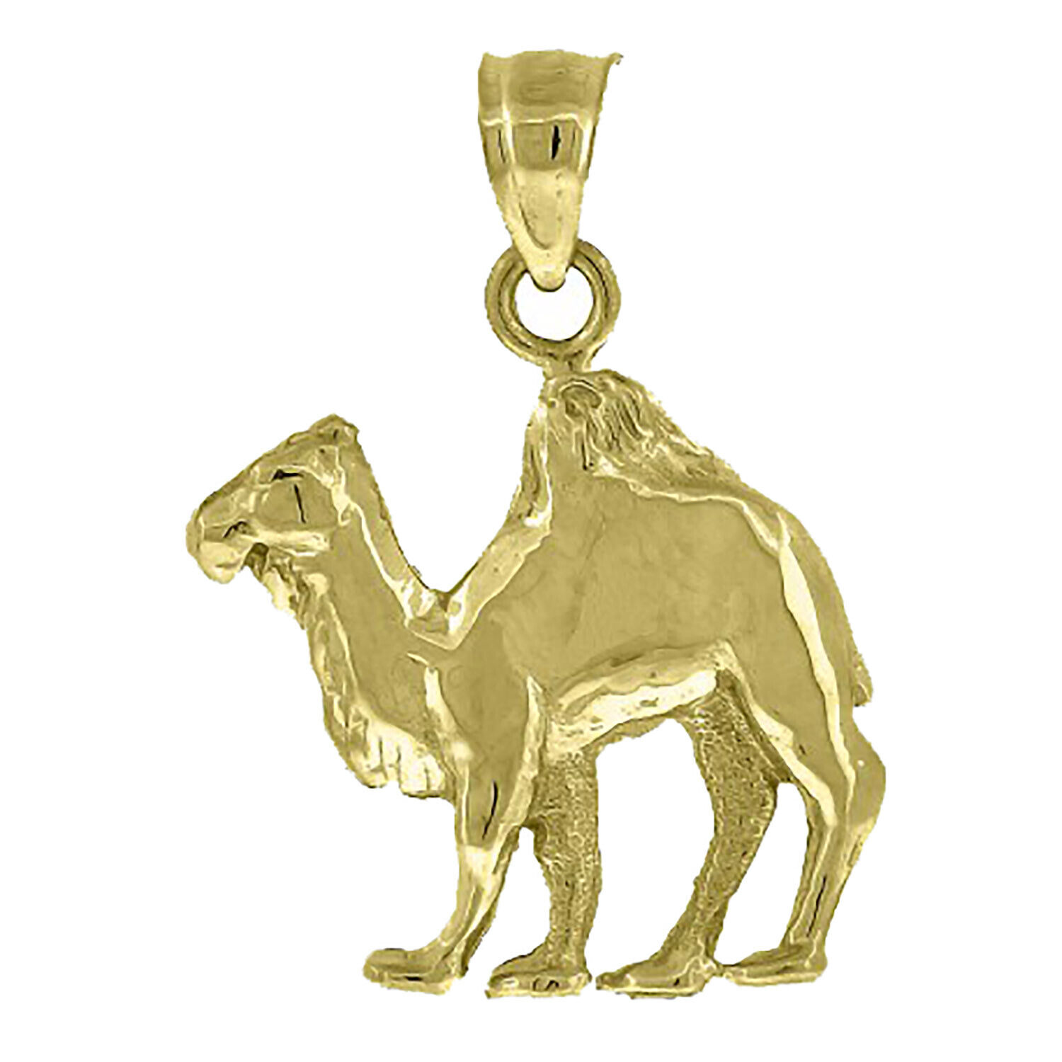 Camel Pendant 10k Solid Yellow gold Pendant - Camel 10k Yellow gold Charm