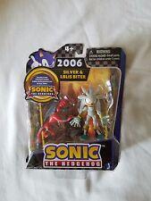 Sonic the Hedgehog 20th Anniversary 2006 Silver & Lblis Biter mini figures