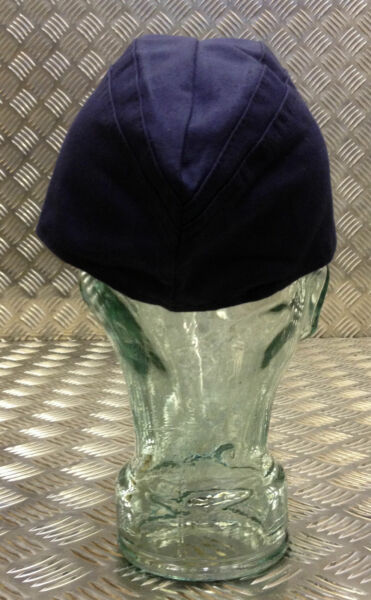 162a4c47dfe Genuine East German Army Navy Flat Cap   Envelope Forage Hat. Blue -. Hover  to zoom