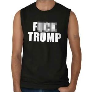F**K Trump Muscle Shirt Anti Trump Political