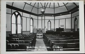 Tiskilwa-IL-1963-Realphoto-Postcard-Interior-View-Illinois-Ill