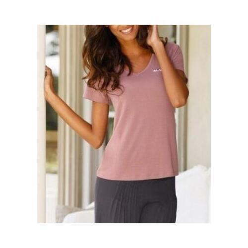 LASCANA Designer Shirt Top NEU mauve