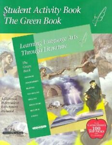 Green-Student-Activity-Book-Learning-Language-Arts-Through-Literature-by-Pr