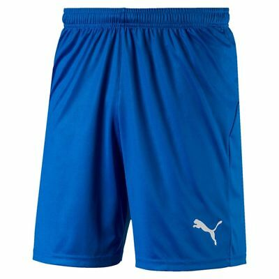 Puma Fußball Herren Liga Core Shorts Männer kurze Hose blau weiß | eBay
