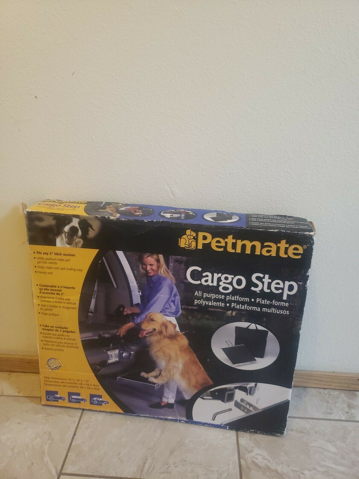 Petmate Cargo Step All Purpose Holds