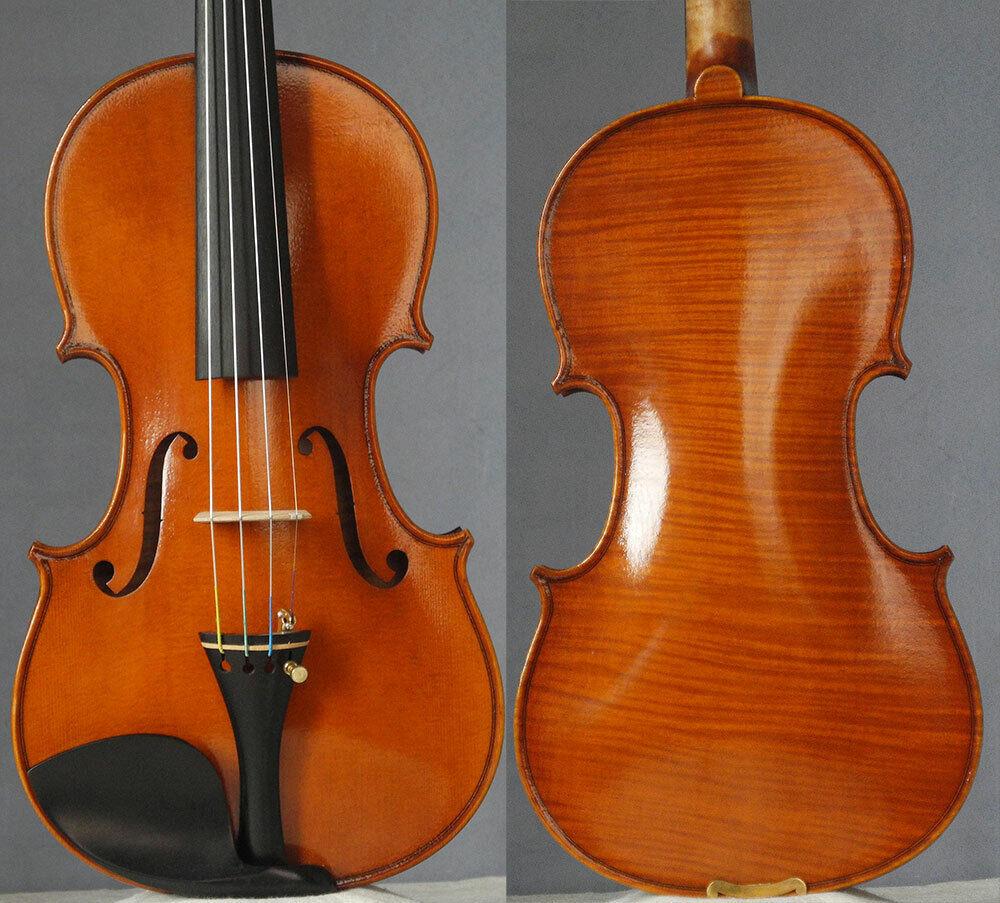 Meister handgefertigte Geige stradivari 1716, kräftiger Ton, 4 4 Geige