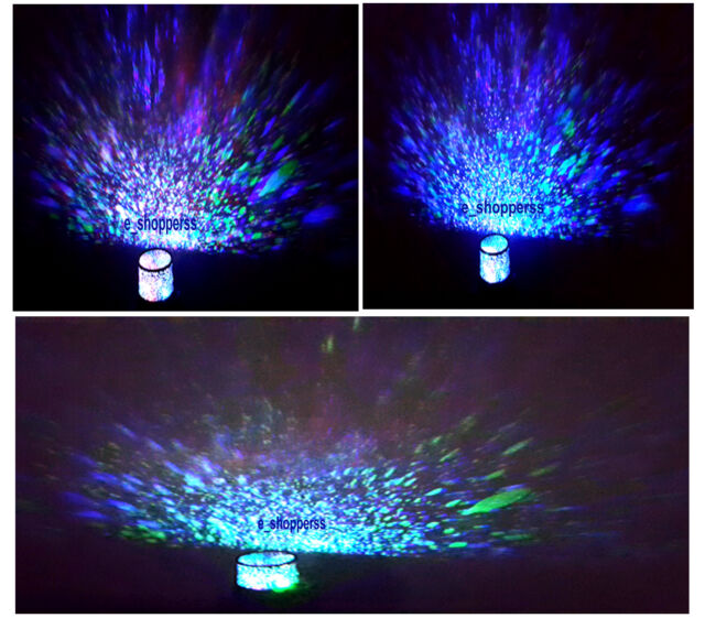 Cosmos Planet Lamp Star Sky Night Light Projector Christmas Gift