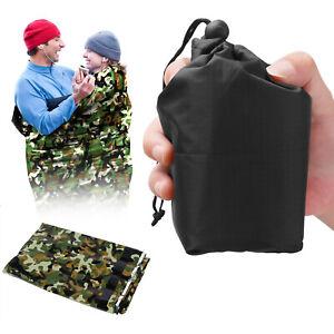 Waterproof-Emergency-Sleeping-Bag-Outdoor-Survival-Thermal-Mylar-Blanket-Camping