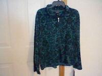 Brand Women's Size Large Erika Zipper Front Jacket